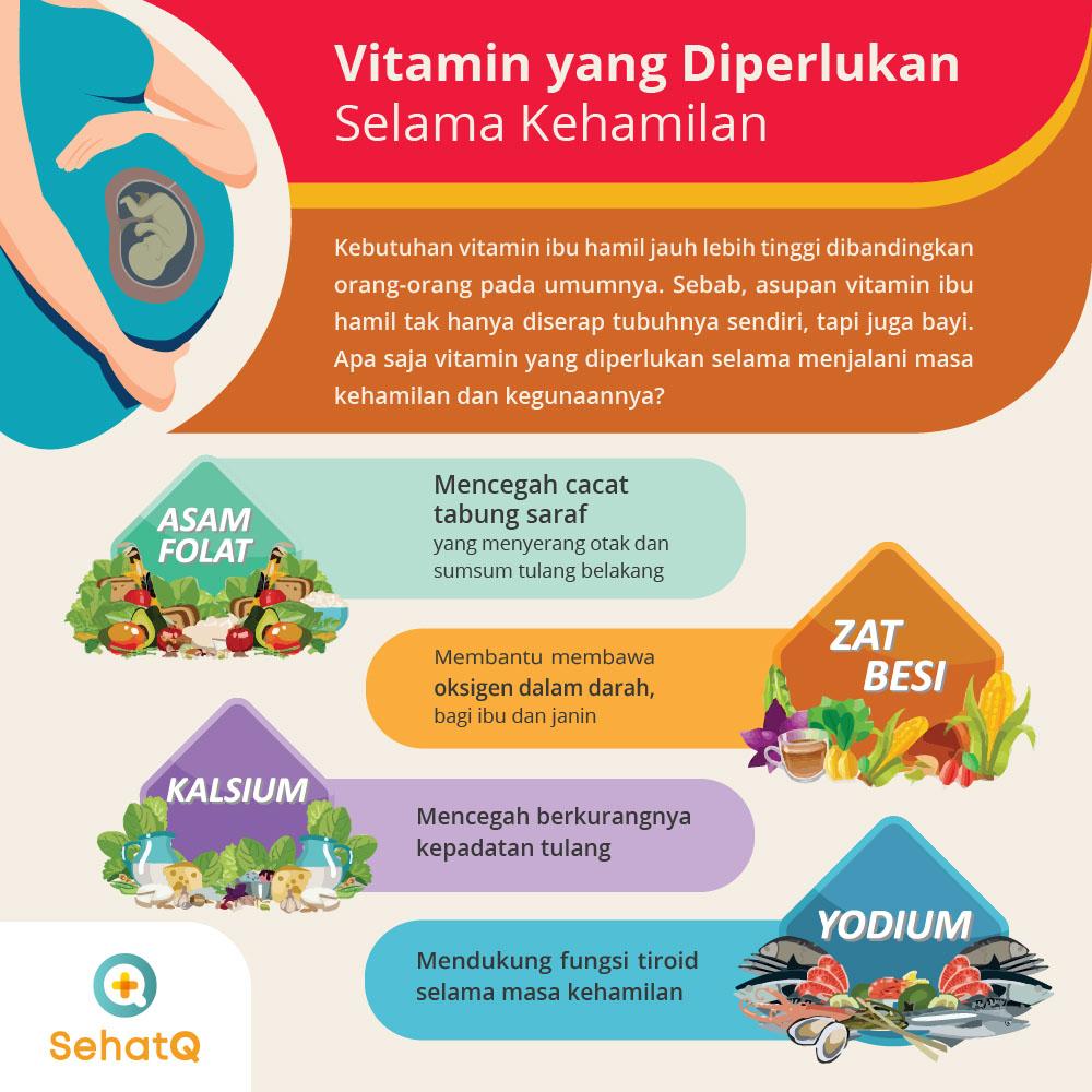 vitamin ibu hamil