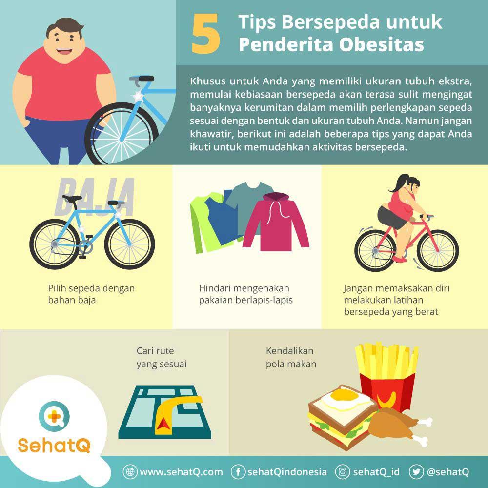 bersepeda untuk orang obesitas
