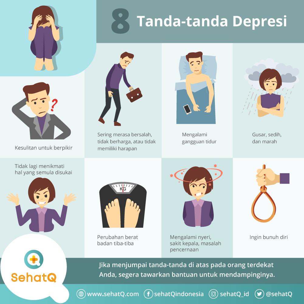 8 tanda depresi
