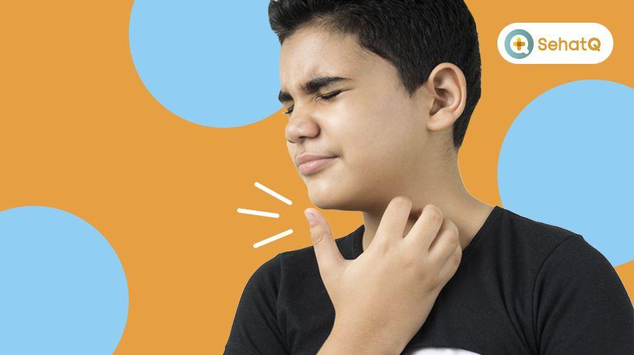 Batuk kering menyebabkan tenggorokan kering dan gatal