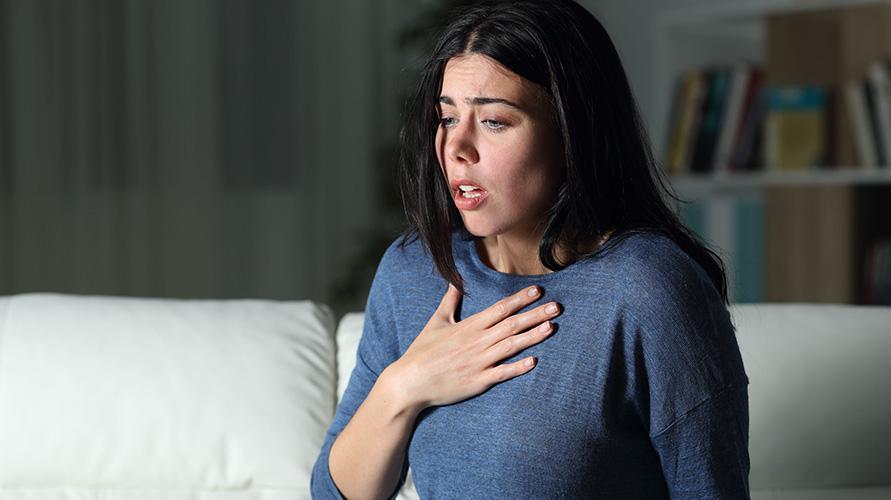 Sesak napas merupakan gejala awal asma