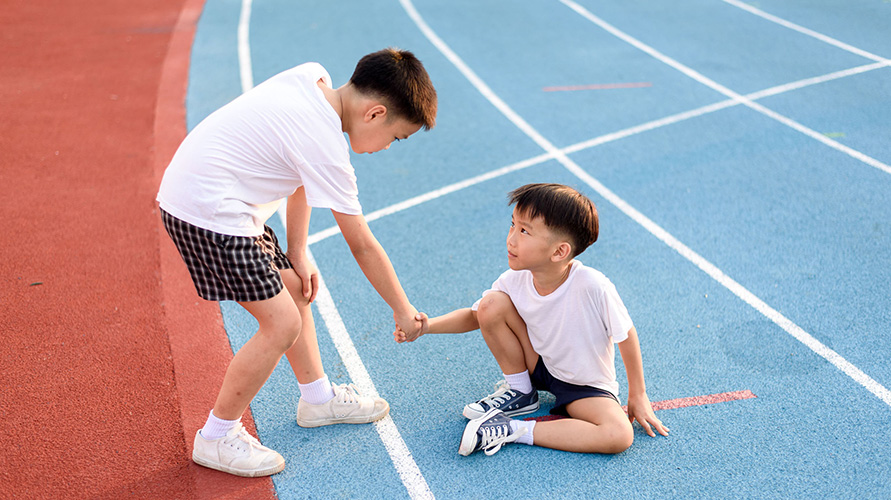 anak rutin berolahraga