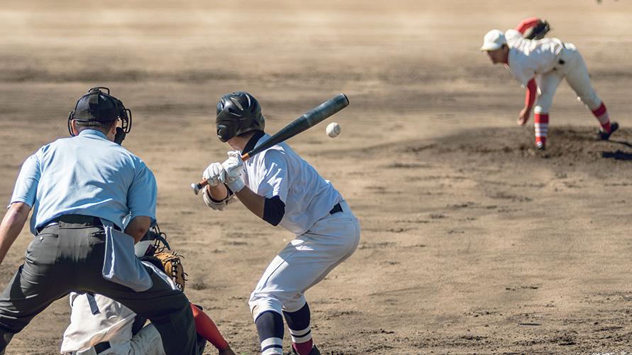 Permainan bola kecil termasuk salah satunya baseball