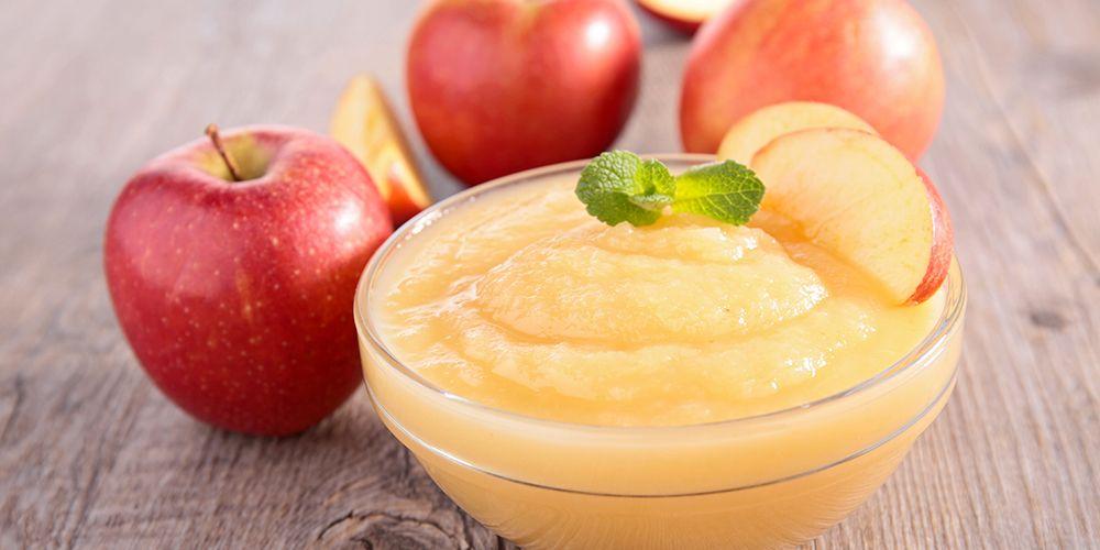 Saus apel adalah makanan penghilang rasa mual