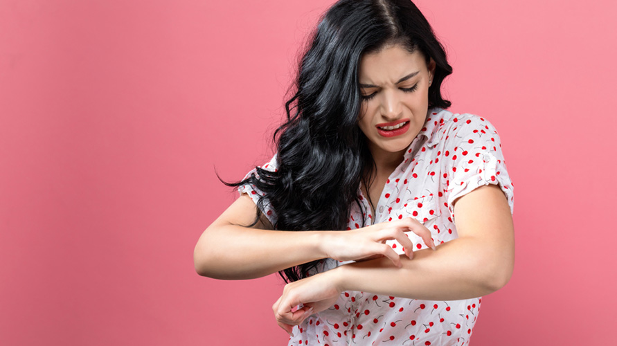 Cara mengatasi gatal pada kulit jangan menggaruknya