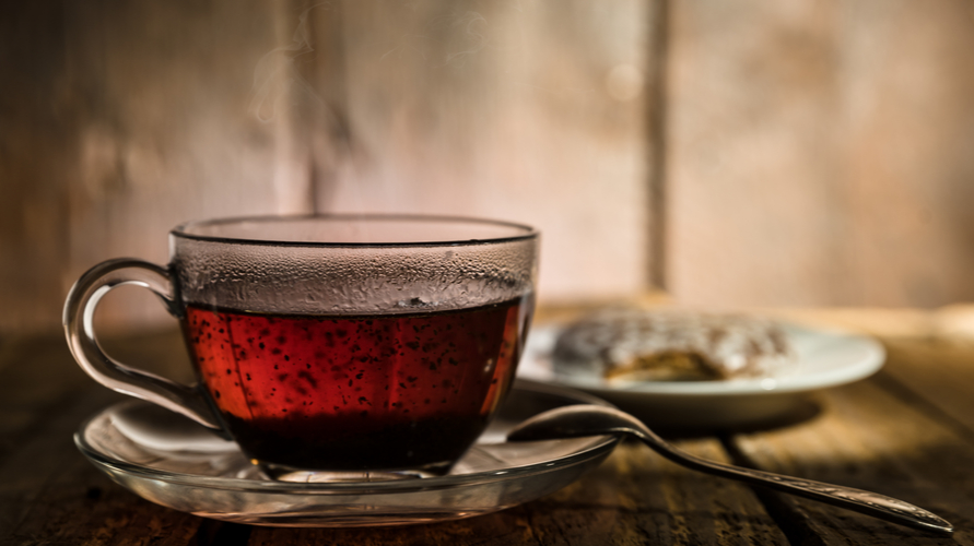 Teh hitam adalah teh untuk diet yang berkhasiat bagi kesehatan