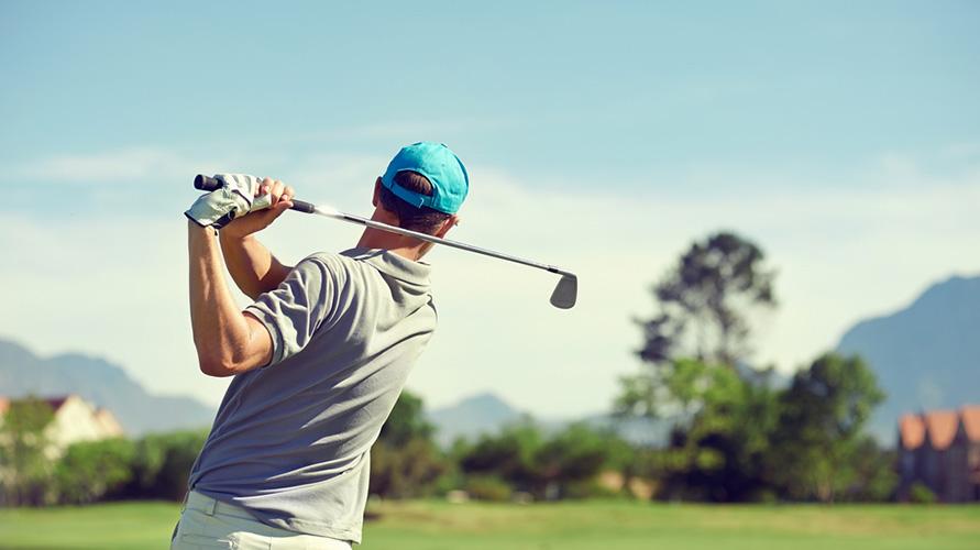 Golf contoh permainan bola kecil