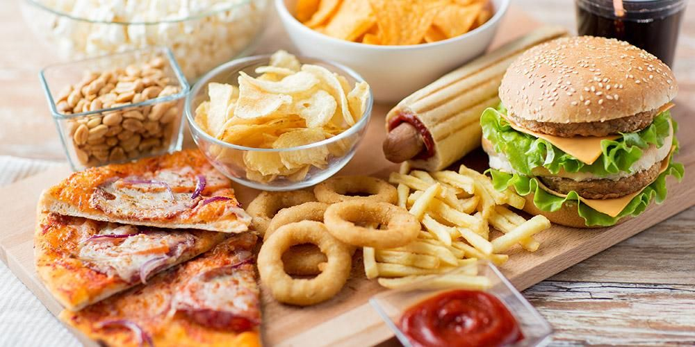 fast fodd & junk food