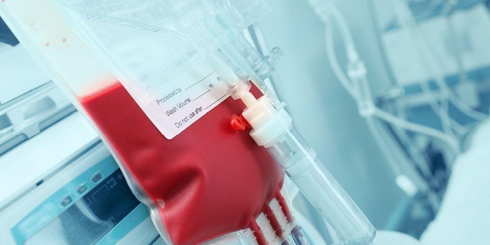 herpes melalui transfusi darah