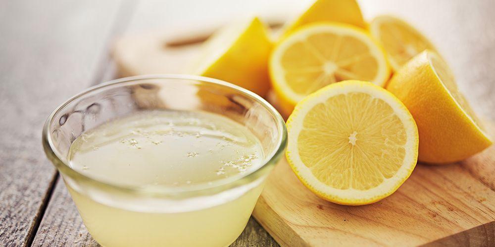 campuran teh madu dan lemon