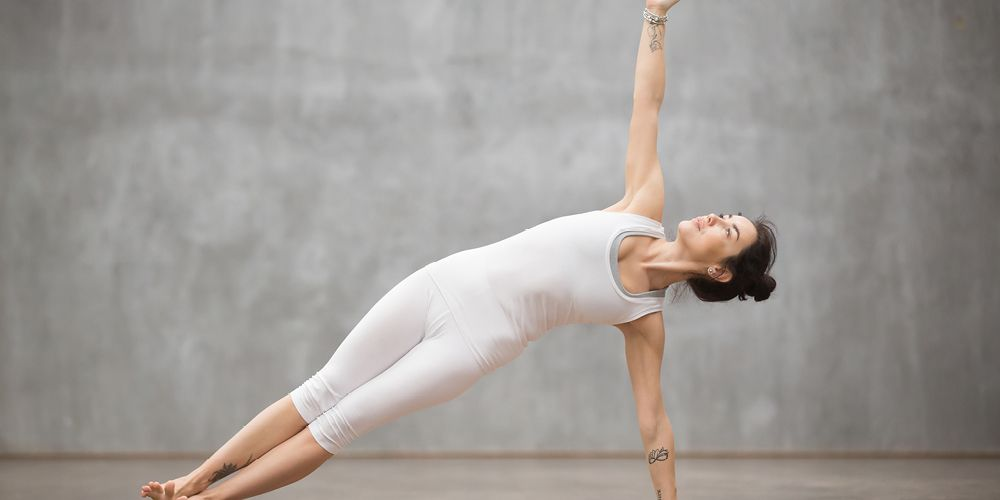 pose yoga plank