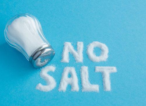 kurangi garam