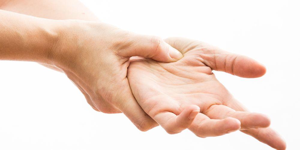 Telapak tangan sakit
