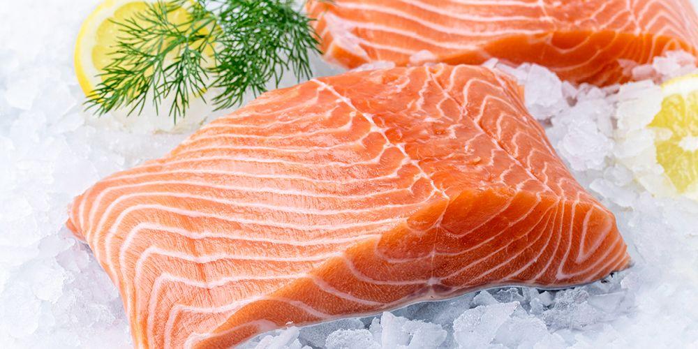 Salmon mengandung vitamin D dan omega 3 untuk kesehatan janin