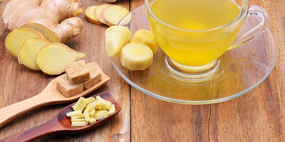 Mengonsumsi teh jahe bisa jaga kesehatan selama musim hujan
