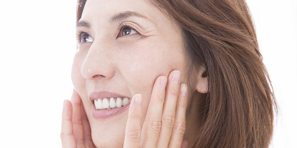Manfaat pepaya untuk wajah lainnya adalah mengurangi kerutan di wajah