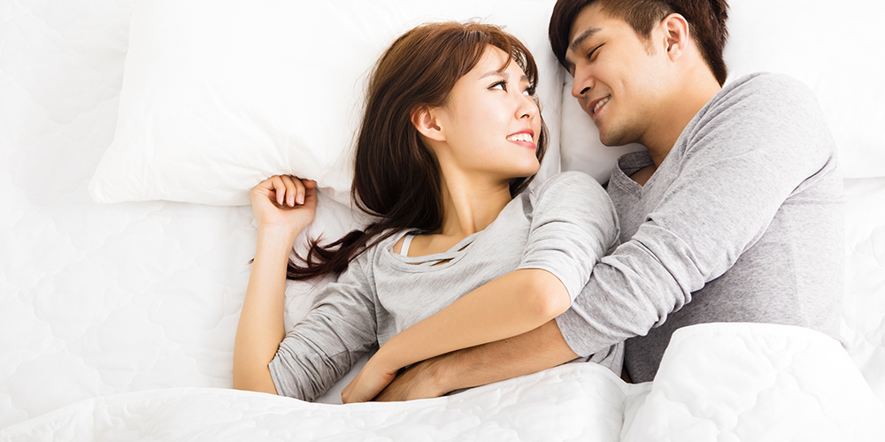 Pasangan yang inging melakukan hubungan seks setelah bertengkar