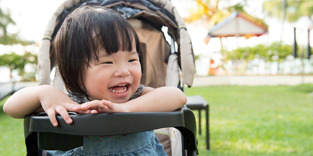 Playmat membantu melatih saraf motorik dan sensoris bayi