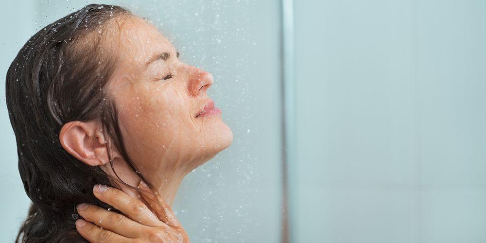 Cholinergic urticaria bisa dicegah dengan mandi air dingin