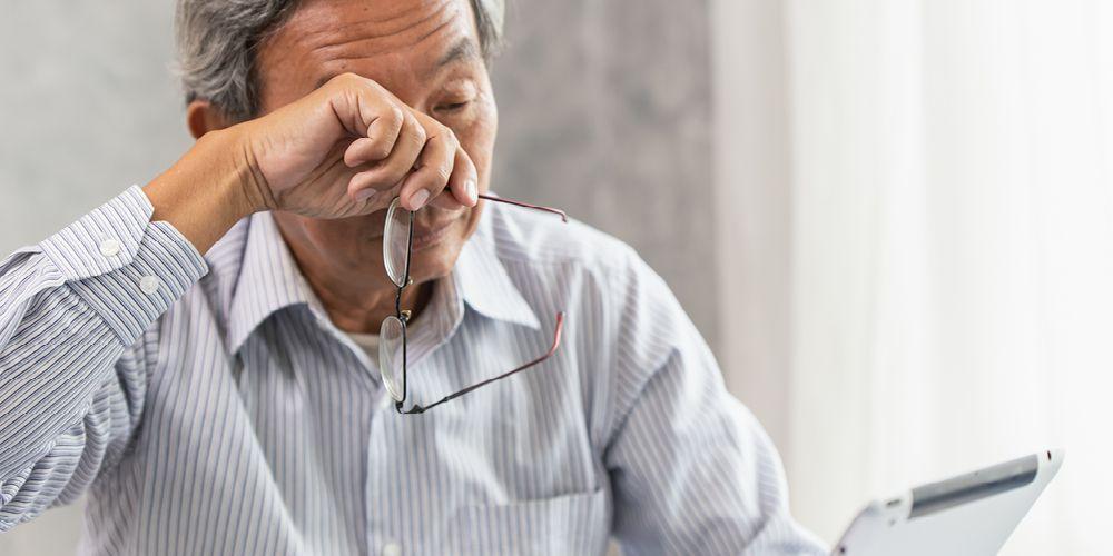 Sering merasa lelah dan pusing merupakan gejala rabun dekat