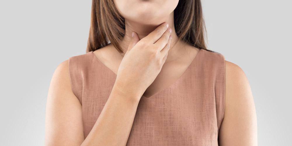 tenggorokan terasa mengganjal