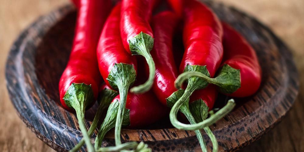 Capsaicin dalam cabai mampu meningkatkan metabolisme dan membantu menjaga kesehatan pembuluh darah