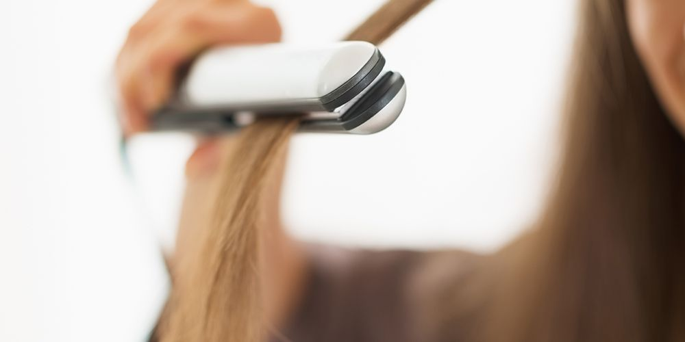 Menghindari menggunakan catokan bantu atasi rambut rontok