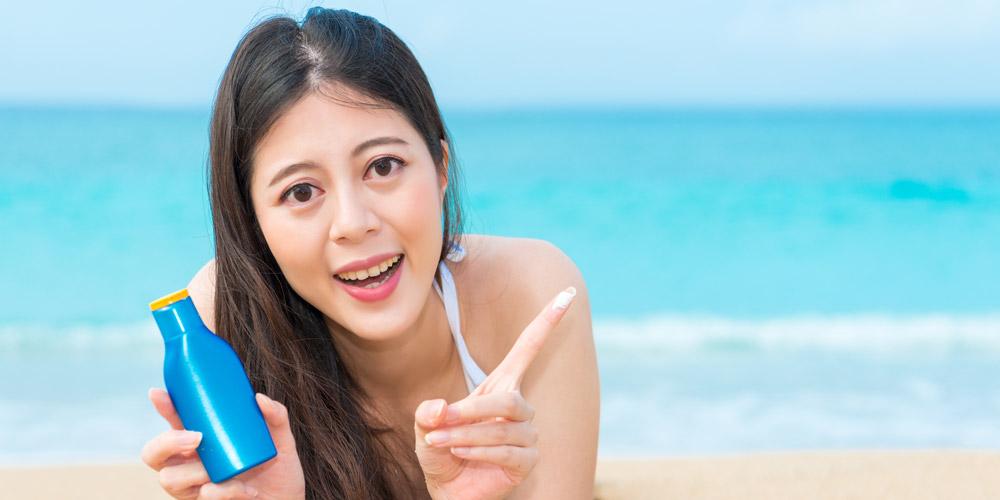 SPF pada sunblock dan sunscreen melindungi kulit dari sinar UVB