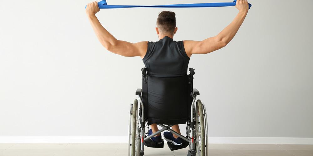 Berolahraga dapat memperlancar kinerja jantung, paru-paru, dan pembuluh darah penderita paraplegia