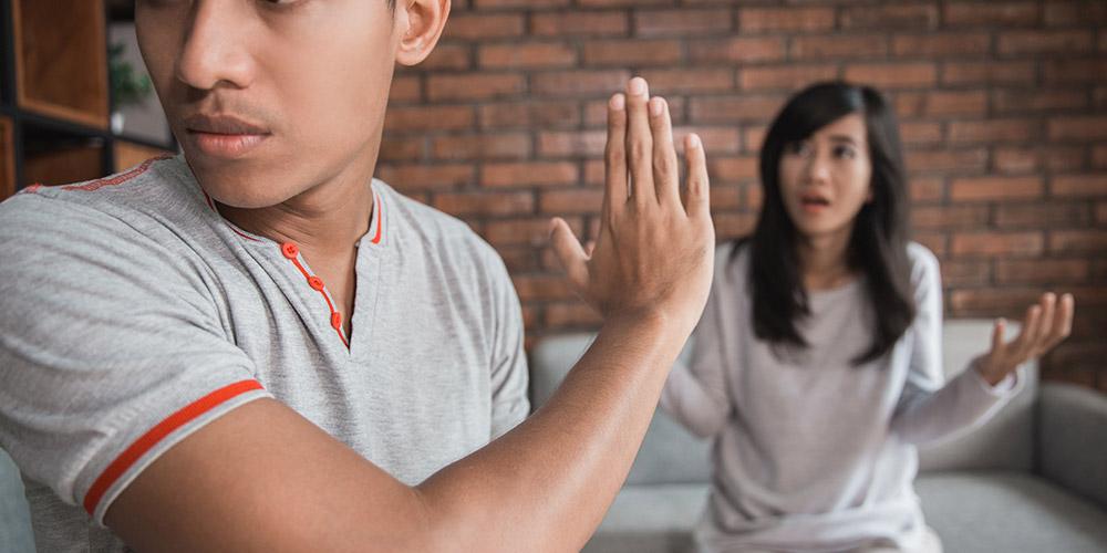 Tidak bisa berkomunikasi dengan baik merupakan tanda hubungan yang tidak sehat