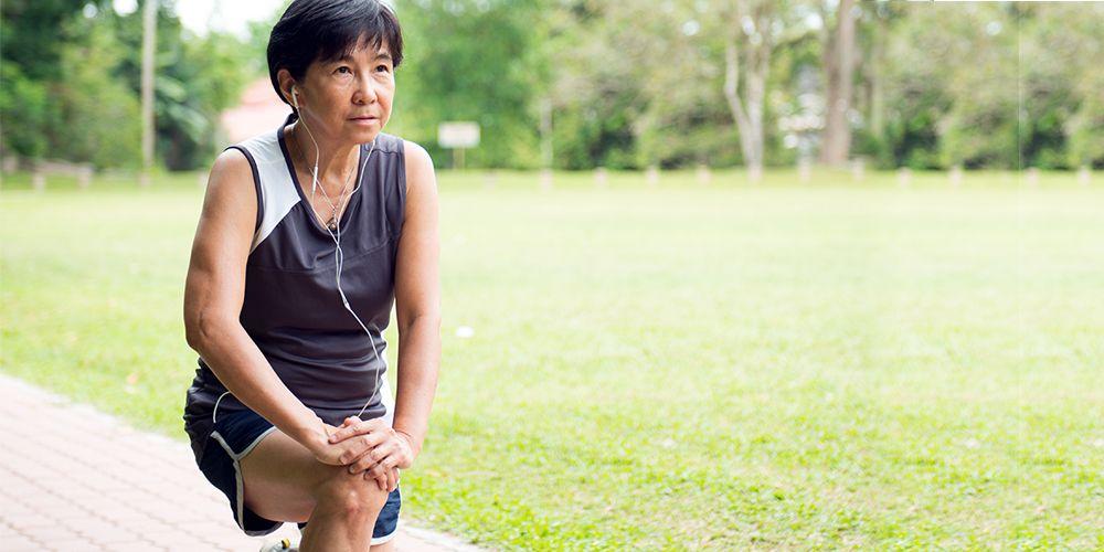 Rajin berolahraga dapat meringankan gejala menopause