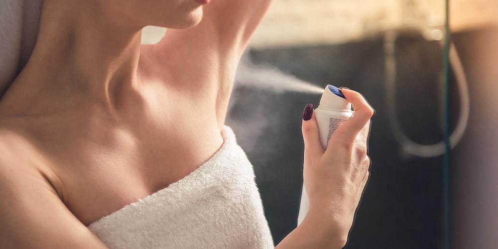 Antiperspirant dapat menghambat pori-pori penyebab hiperhidrosis