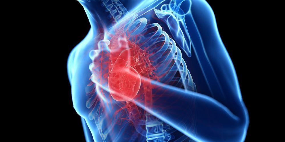 Sesak napas bisa disebabkan masalah pada jantung