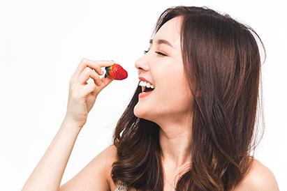 Buah yang mengandung vitamin A berikutnya adalah stroberi