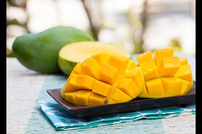Mangga mengandung vitamin A dan vitamin B6