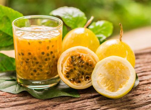 Jus markisa mengandung vitamin c yang cukup untuk kebutuhan sehari-hari
