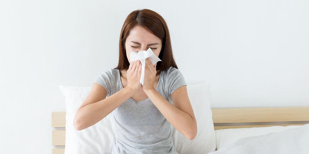 Rhinitis alergi dapat menyebabkan tenggorokan gatal