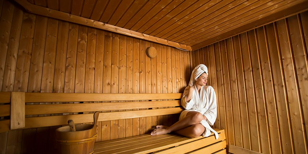 Sauna dapat membakar lemak pada tubuh