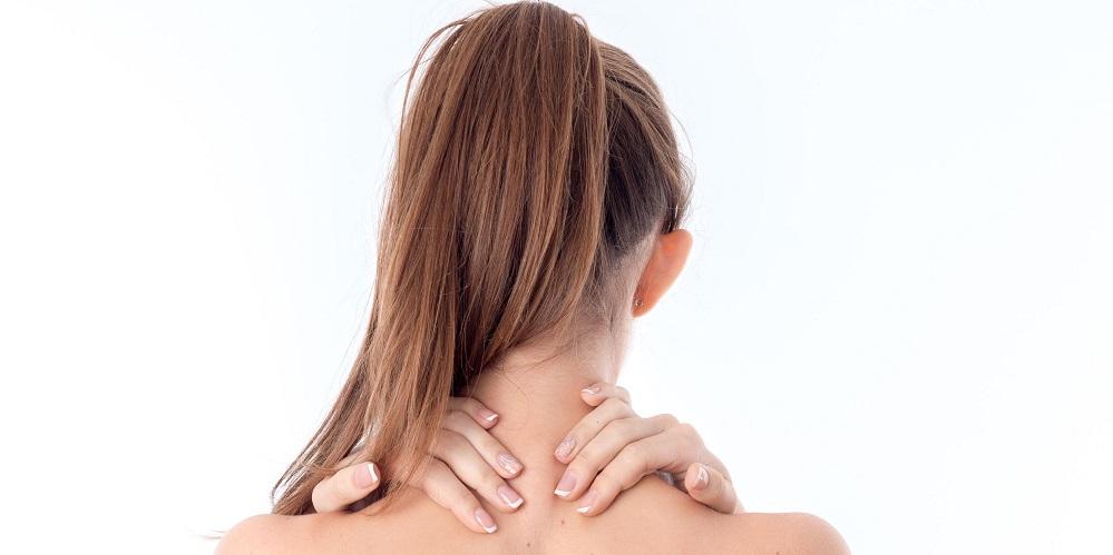 Leher bagian belakang titik rangsang wanita