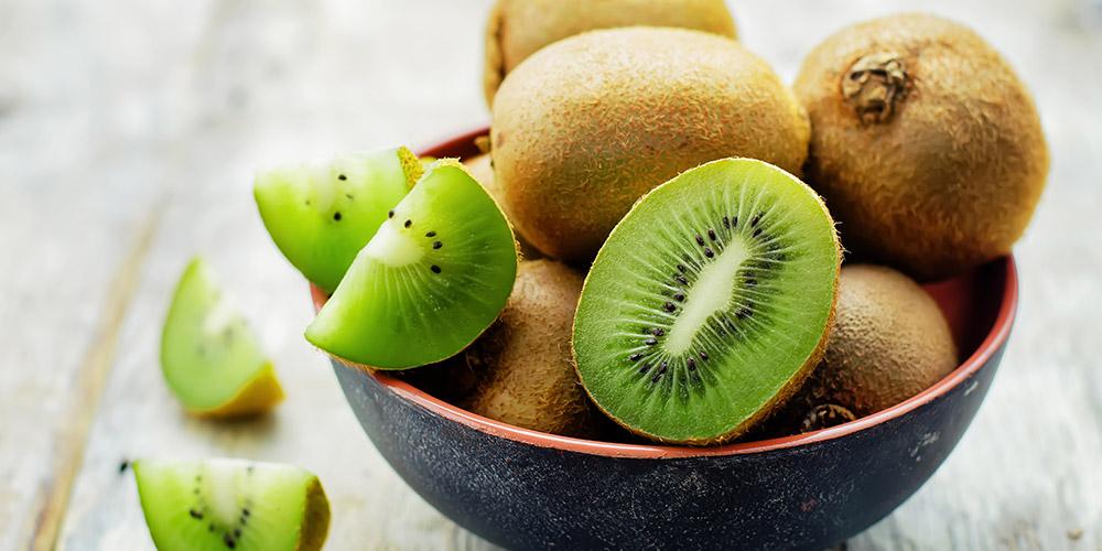 Buah kiwi dapat memenuhi kebutuhan serat harian