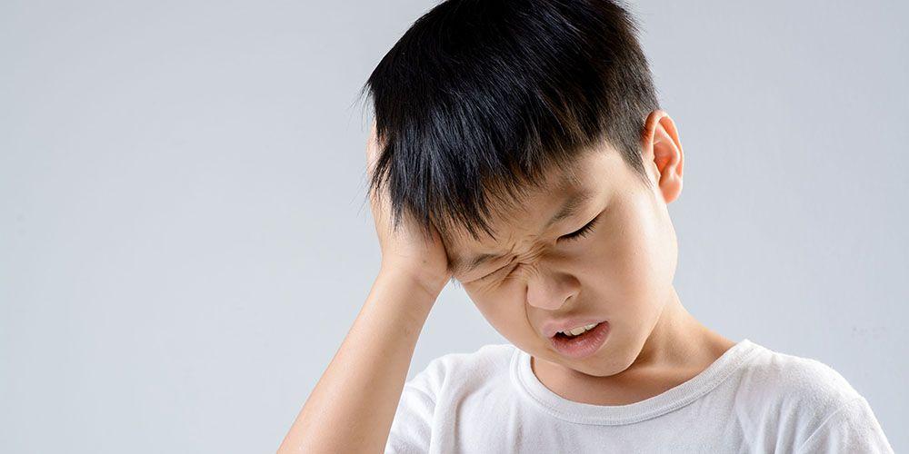 tanda-tanda gegar otak pada anak setelah jiidat terbentur dan benjol