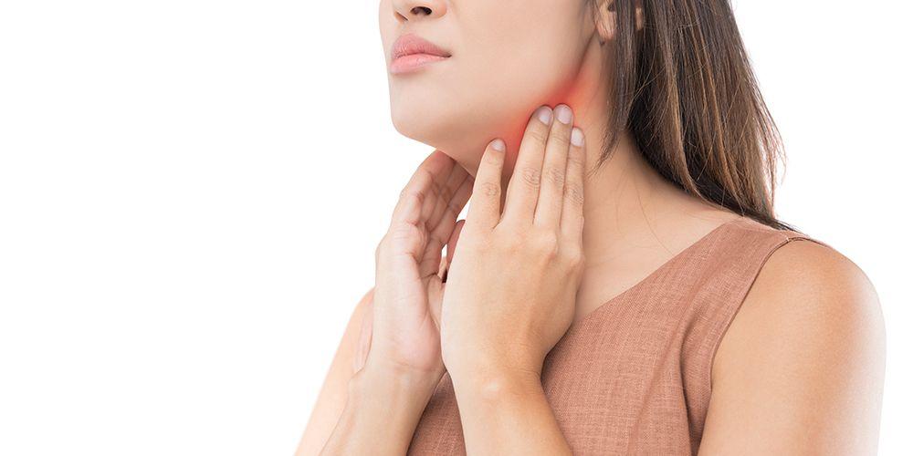 Benjolan di leher bisa jadi gejala kanker kelenjar getah bening