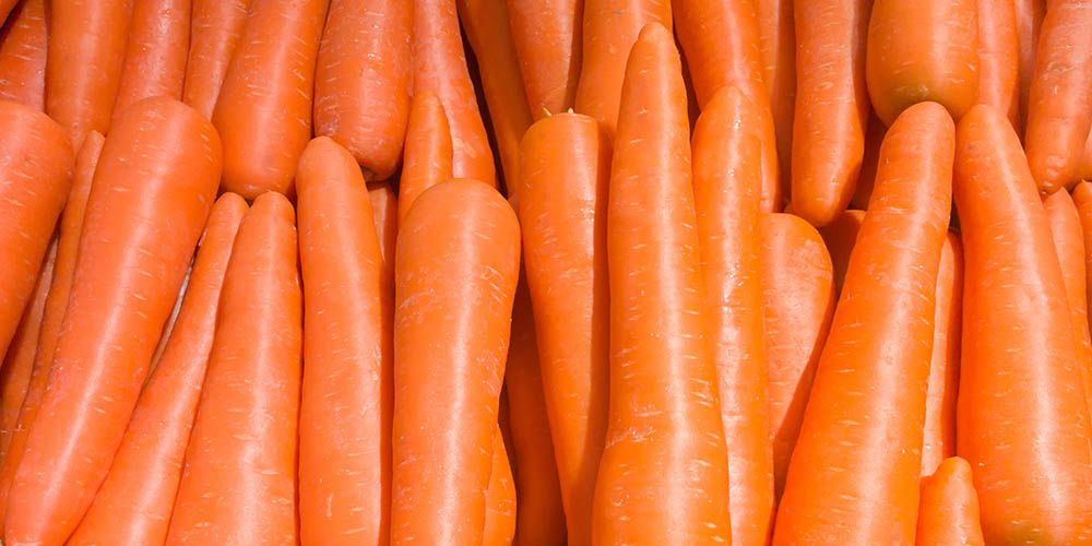Nutrisi rambut terkandung pada wortel