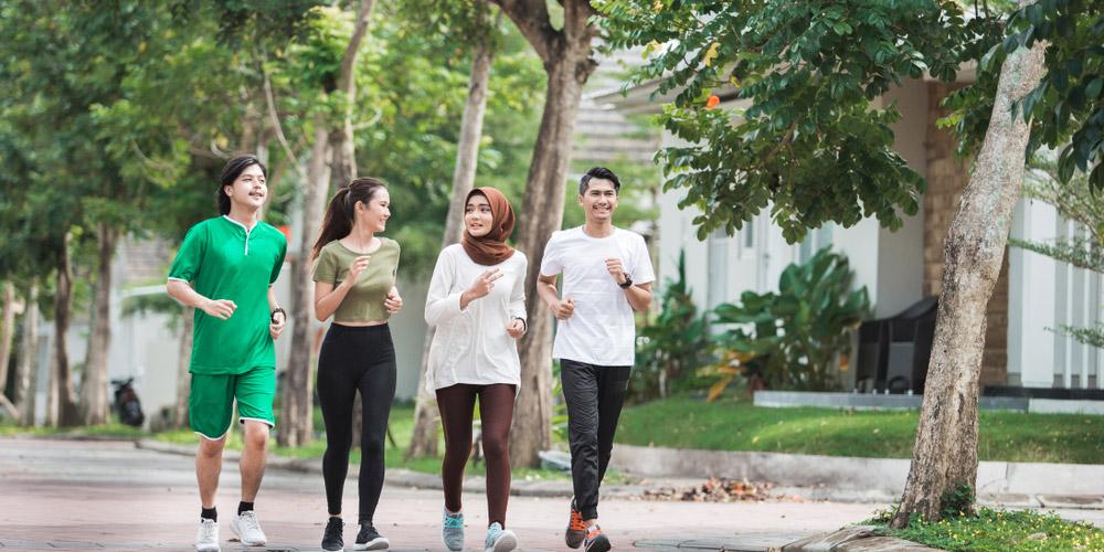 Olahraga secara rutin juga dapat dilakukan sebagai persiapan puasa Ramadan