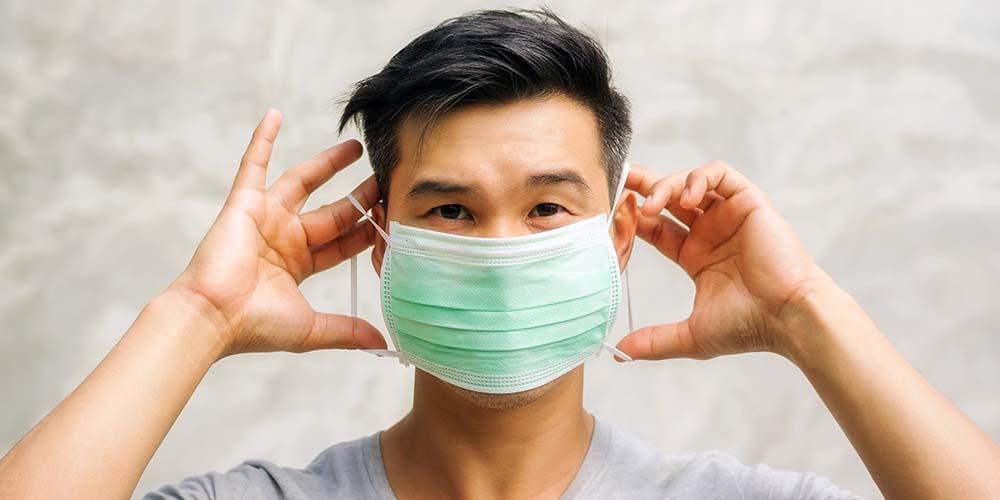 Penggunaan masker dobel sudah direkomendasikan oleh CDC