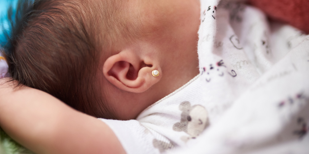 Telinga bayi kemasukan air akan berisiko alami infeksi