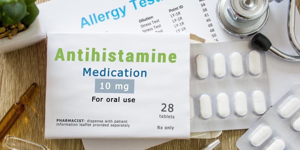 obat antihistamin untuk atasi gejala alergi kafein
