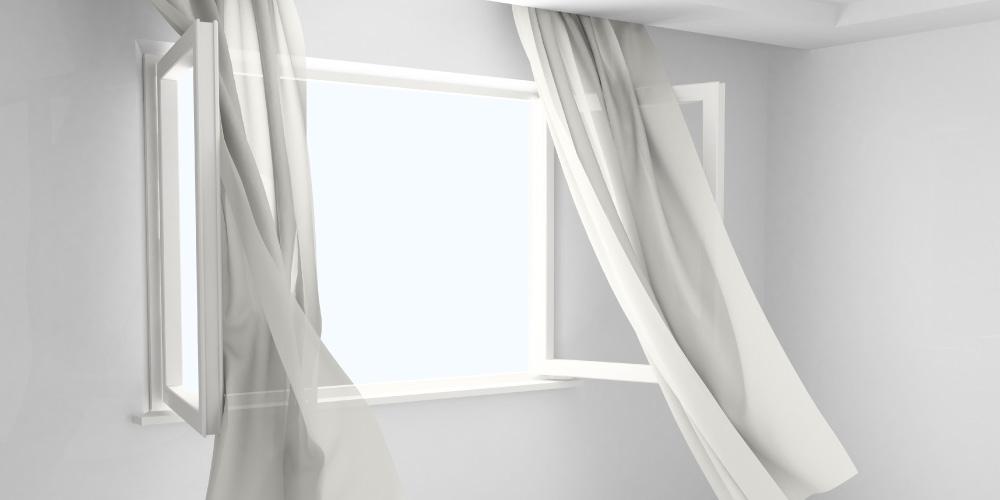 buka jendela agar kelembapan berkurang