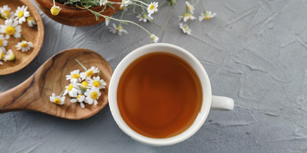 teh kamomil untuk asam lambung naik