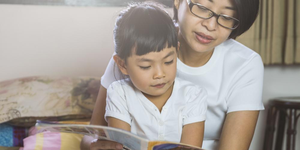 mengajar anak membaca